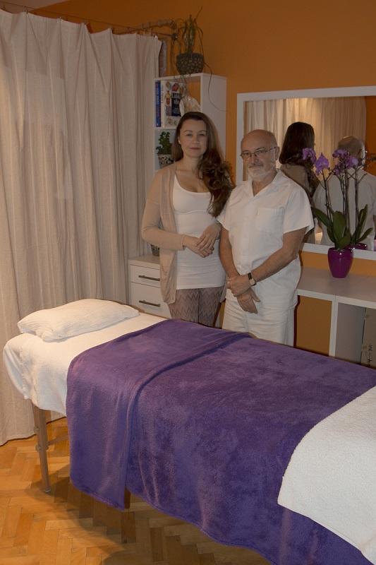 Karla Součková lymfoterapeut a Pavel Tichý lymfolog